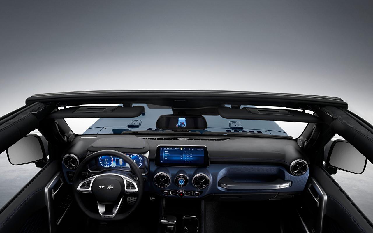 Bilder von Autos Salons Lenkrad SUV BAIC Beijing Group Beijing BJ40C, 2020 Chinesisch auto automobil Sport Utility Vehicle chinesische chinesisches chinesischer