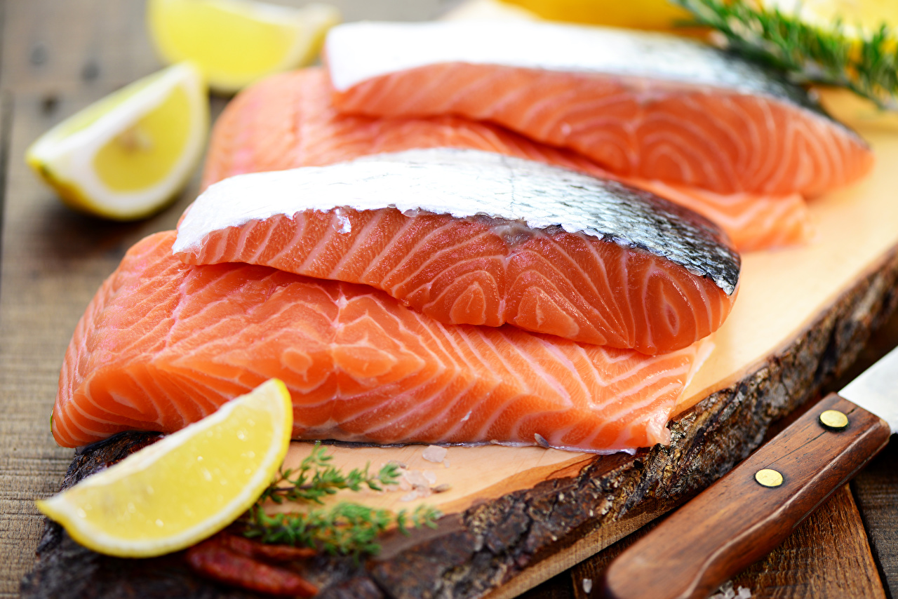 Image Food Lemons Fish - Food Salmon Seafoods