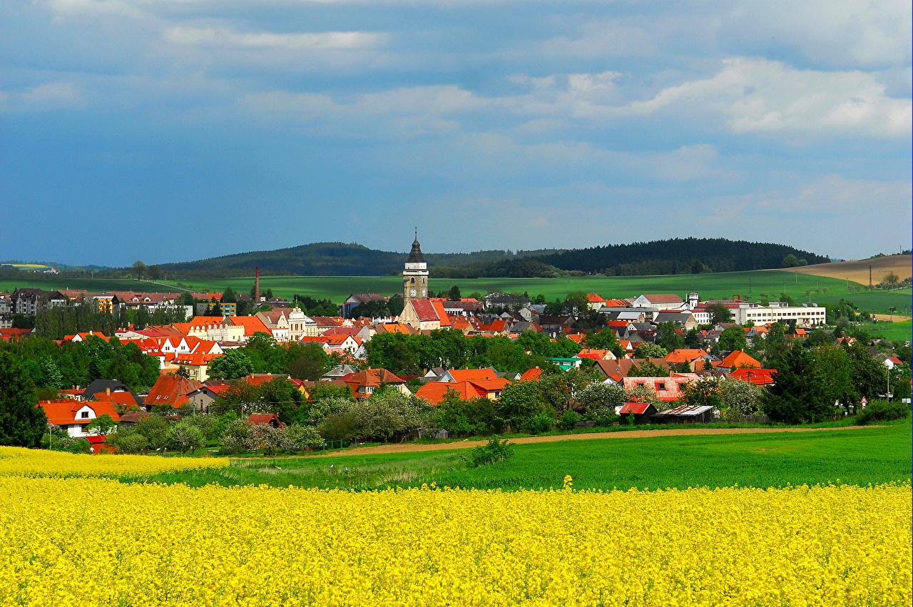 Desktop Wallpapers Czech Republic Jindrichuv Hradec Cities