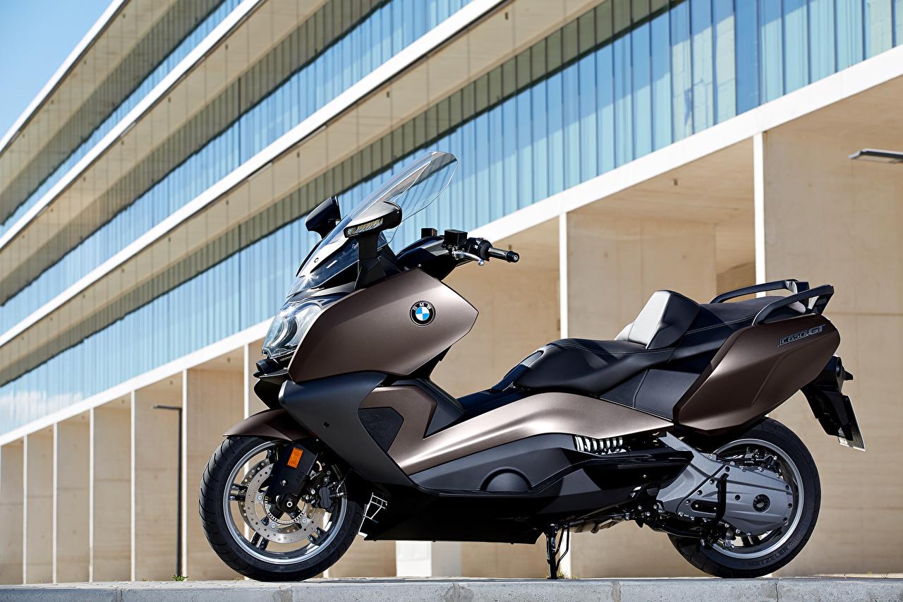 Desktop Wallpapers BMW - Motorcycle Scooter 2012-16 C 650 GT Motorcycles Side motorcycle
