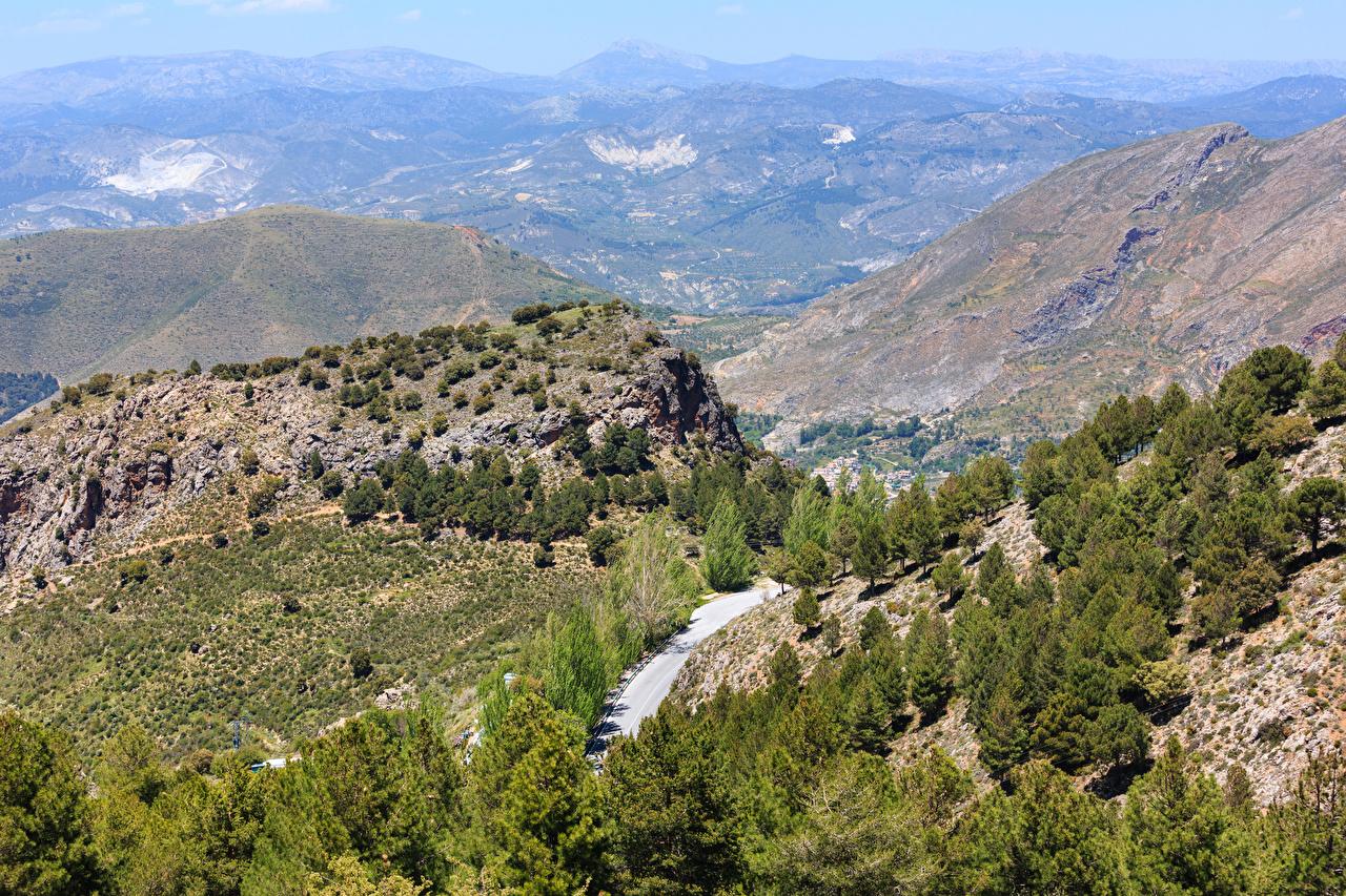 Desktop Wallpapers Spain Sierra Nevada National Park Nature