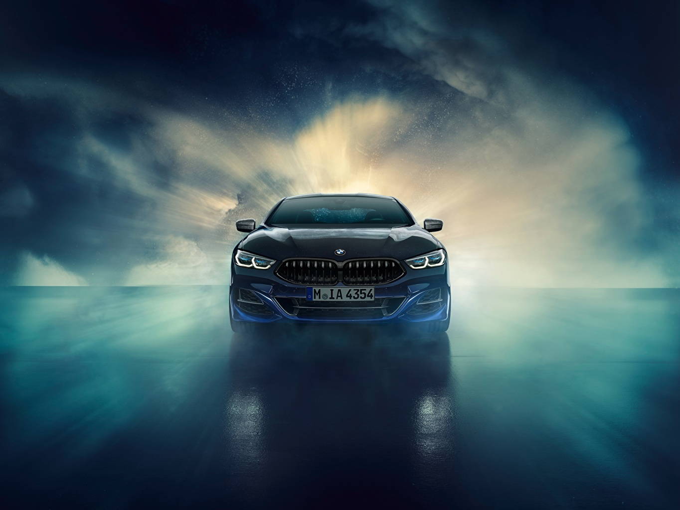 Image BMW 8-Series 2019 M850i XDrive Night Sky Edition Nature Front
