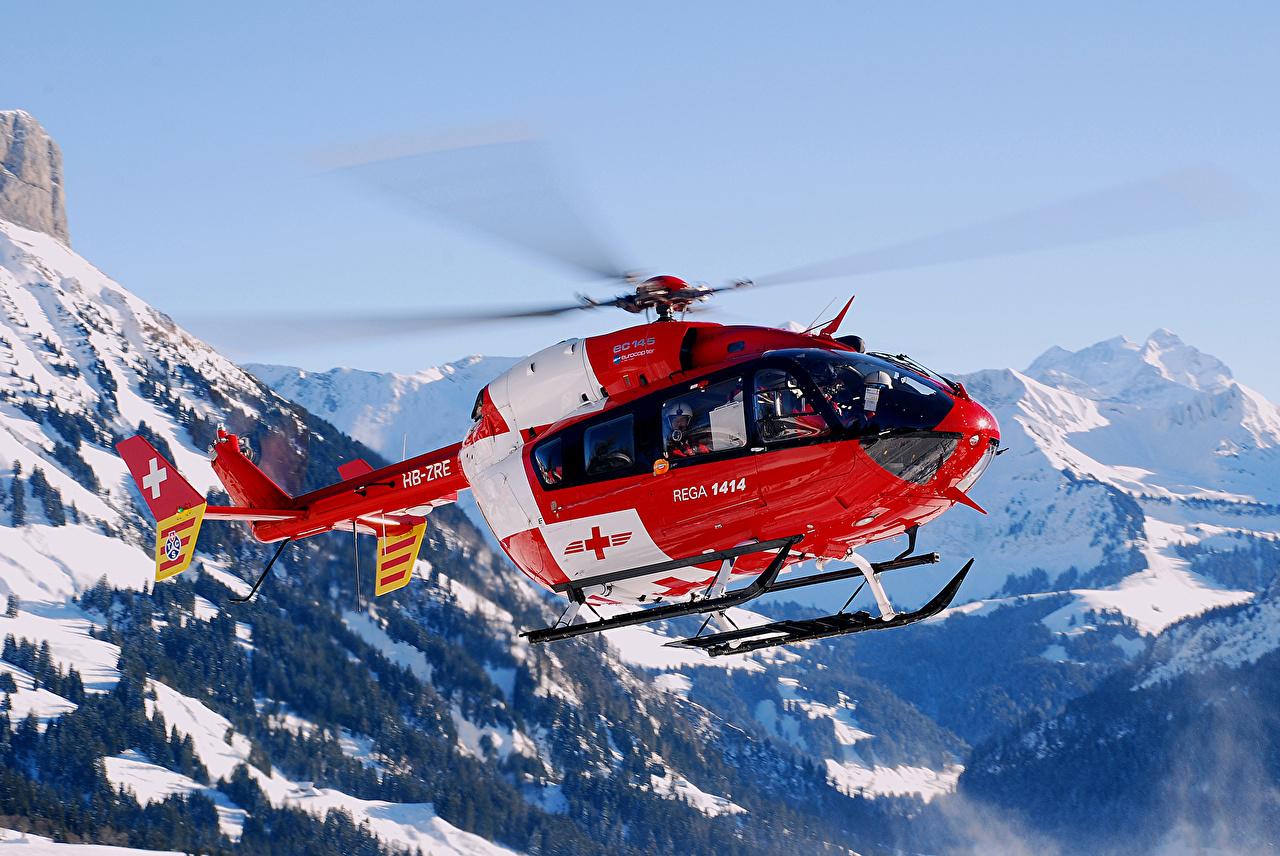 Immagini Elicotteri Montagne Cielo Aviazione elicottero montagna