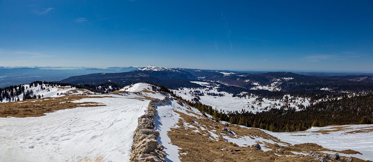 Bilder Alpen Schweiz Panorama Natur Gebirge Schnee Panoramafotografie Berg