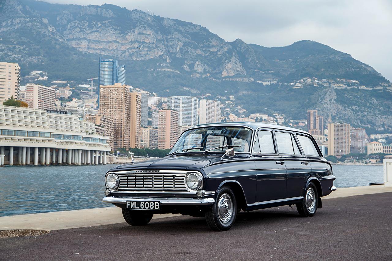 Wallpaper Vauxhall 1961-1964 Victor De Luxe Estate (FB) gray Retro Cars Metallic Grey vintage antique auto automobile