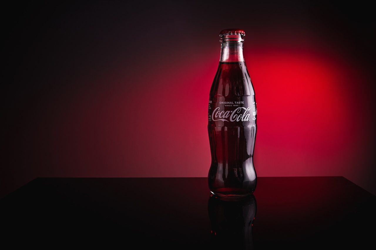 Desktop Wallpapers Coca-Cola Food Bottle drink bottles Drinks