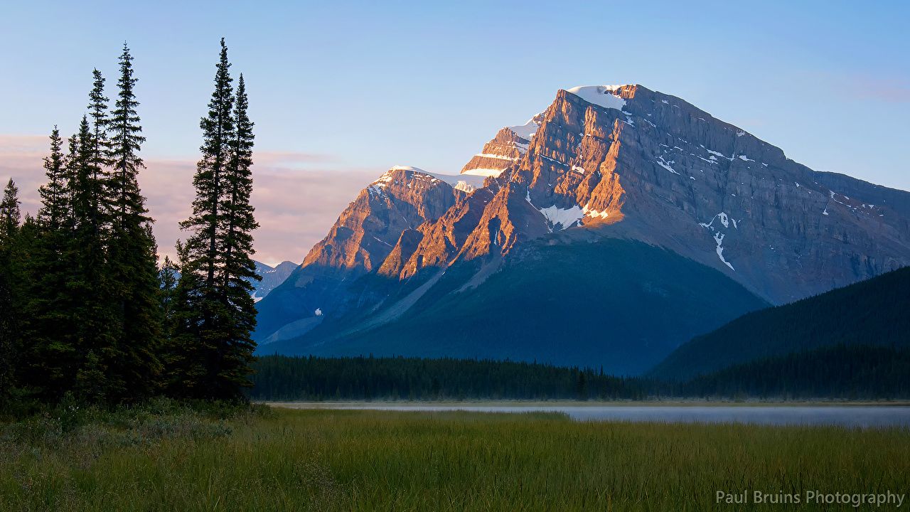 Images Banff Canada Waterfowl Lakes Paul Bruins Photography Nature mountain Parks landscape photography Mountains park Scenery