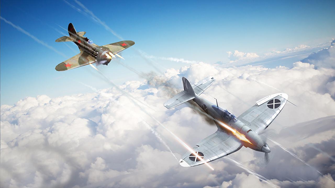 war thunder как стрелять самолетом