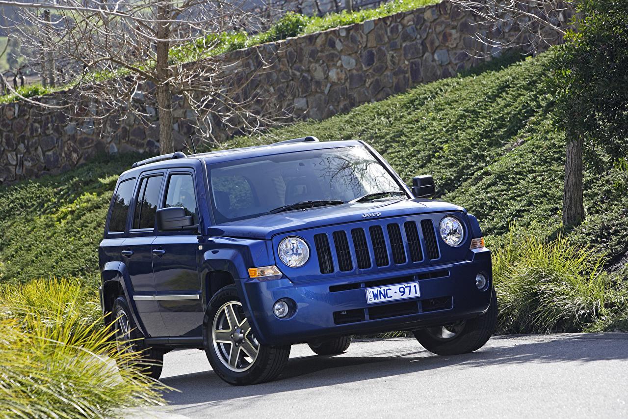 Desktop Wallpapers Jeep 2007 10 Patriot Limited Blue Automobile