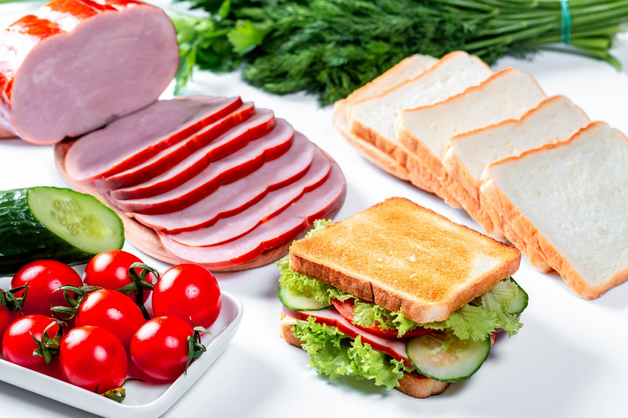 Picture Sandwich Tomatoes Ham Bread Food Vegetables Sliced food