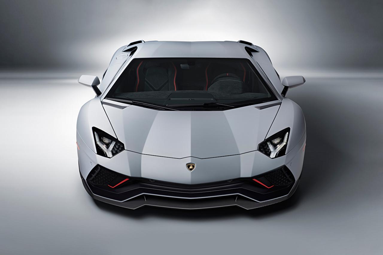 ,藍寶堅尼,Aventador LP 780-4 Ultimae, (LB834), 2021,灰色,正面圖,汽车,