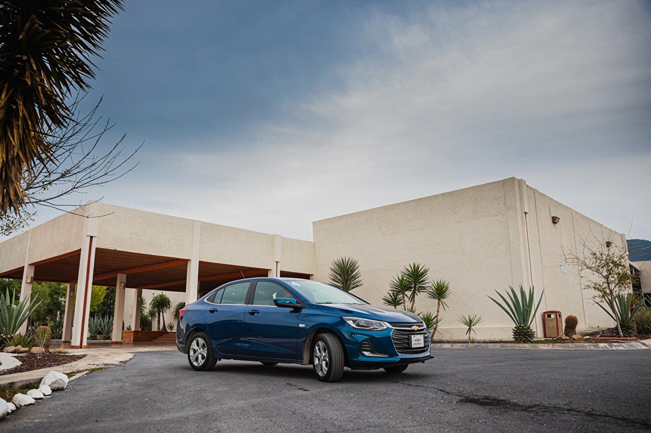 Image Chevrolet 2020 Onix Premier Blue Metallic automobile auto Cars