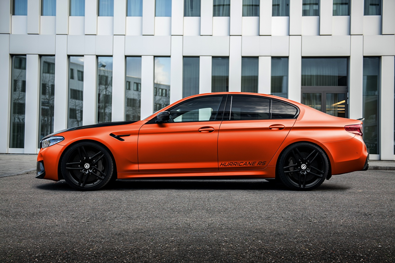 Pictures BMW Tuning M5, G-Power, F90, G5M Hurricane RS Side Metallic automobile auto Cars