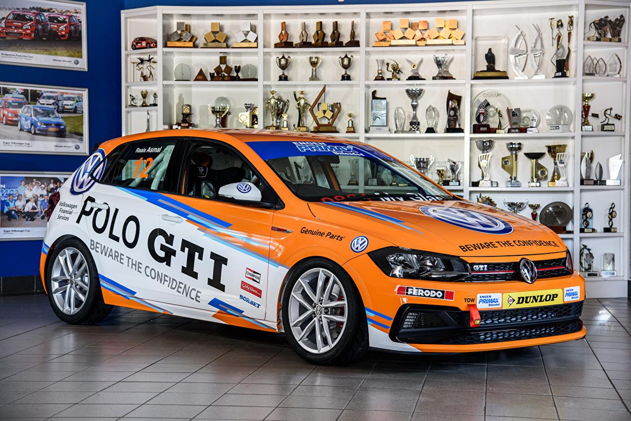 Image Tuning Volkswagen 2018 Polo GTI Cup Orange auto Cars automobile