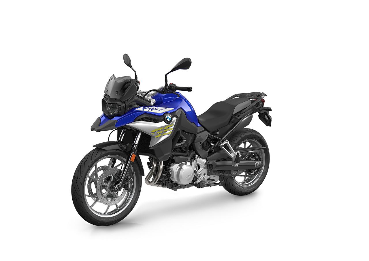 Fotos von BMW - Motorrad 2020 F 750 GS Style Sport Motorrad Weißer hintergrund Motorräder