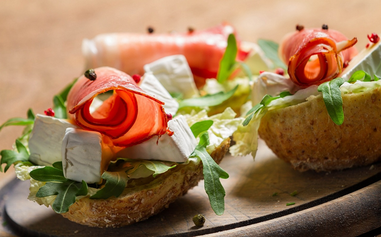 Fotos Brot Käse Schinken Fast food Butterbrot das Essen Lebensmittel