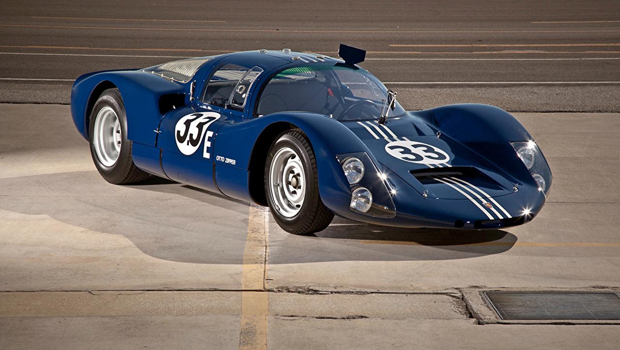 Photos 1967 Porsche 906E Racing Coupe (159) Blue vintage Cars Metallic Retro antique auto automobile