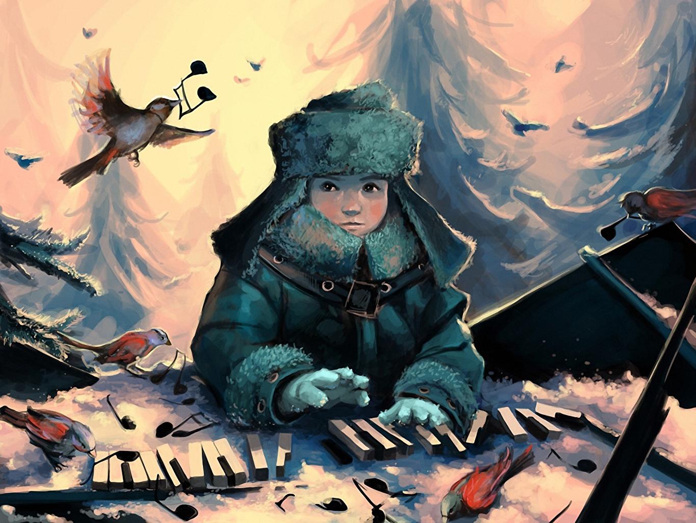 нарисованные картинки птиц для детей - Prakard | 1024x1365