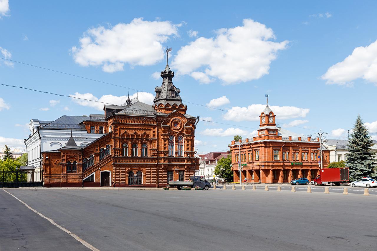 Russie Maison Vladimir City Duma Place de la ville Bâtiment Villes