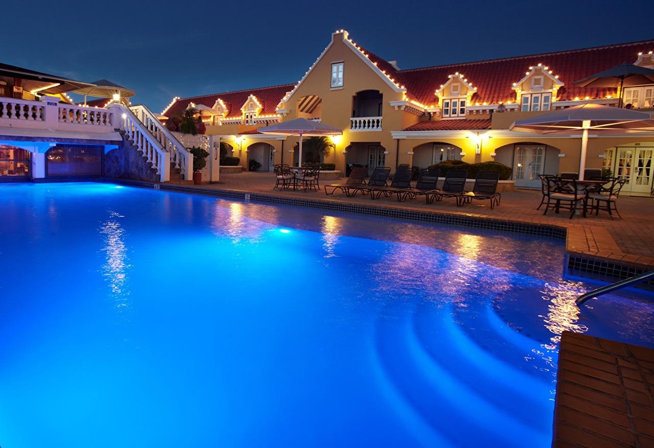 Photo Amsterdam Netherlands Pools Holland Aruba Hotel Houses Cities Swimming bath Building