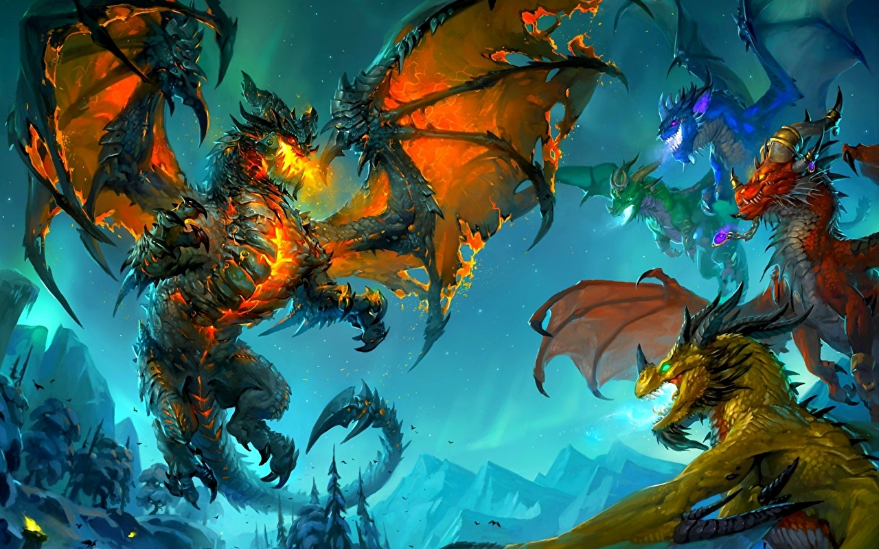 Big As Fan >> Foto World of WarCraft Drache Fantasy computerspiel