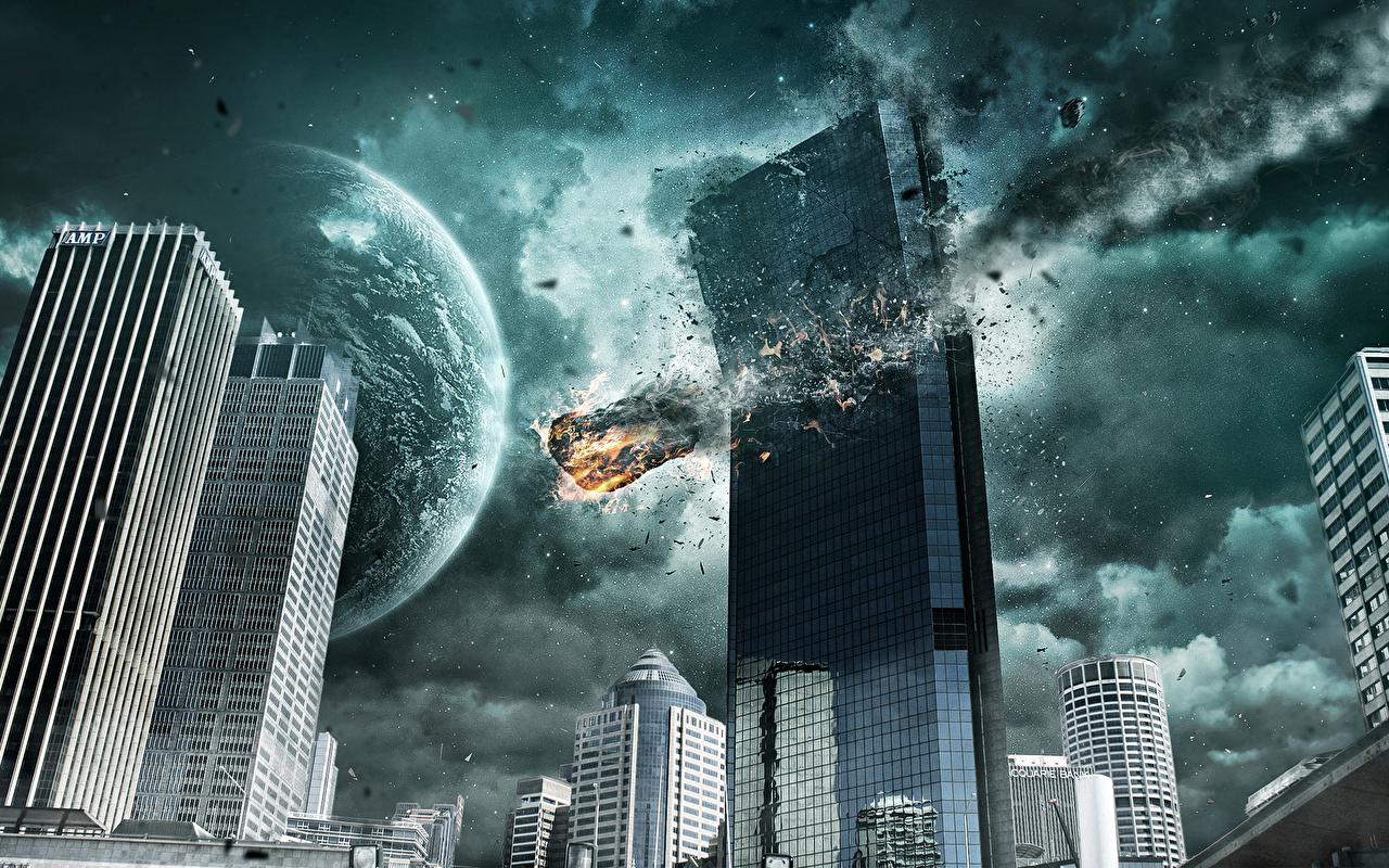 Fonds D Ecran Apocalypse Catastrophes Fantasy Telecharger Photo