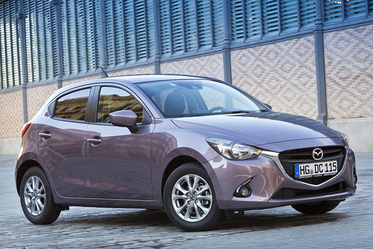 Pictures 2014 Mazda 2 Metallic automobile Cars auto