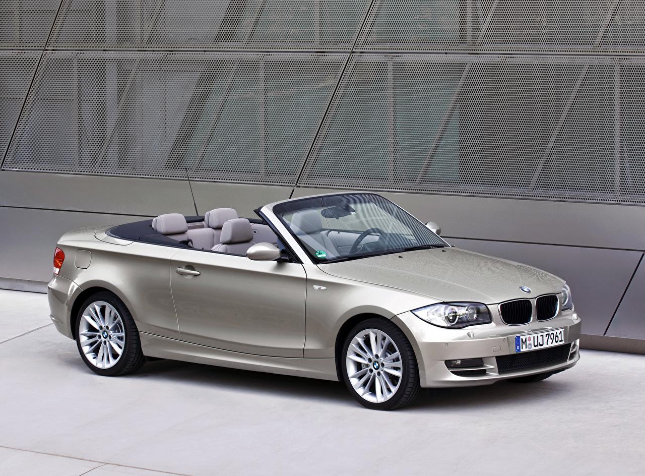 Photos BMW Cabriolet Silver color Metallic automobile Convertible Cars auto