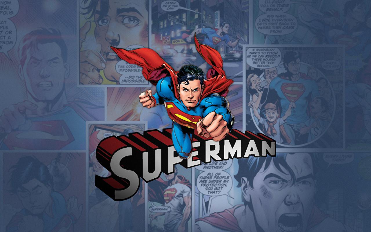 Desktop Wallpapers Heroes comics Superman hero Fantasy superheroes