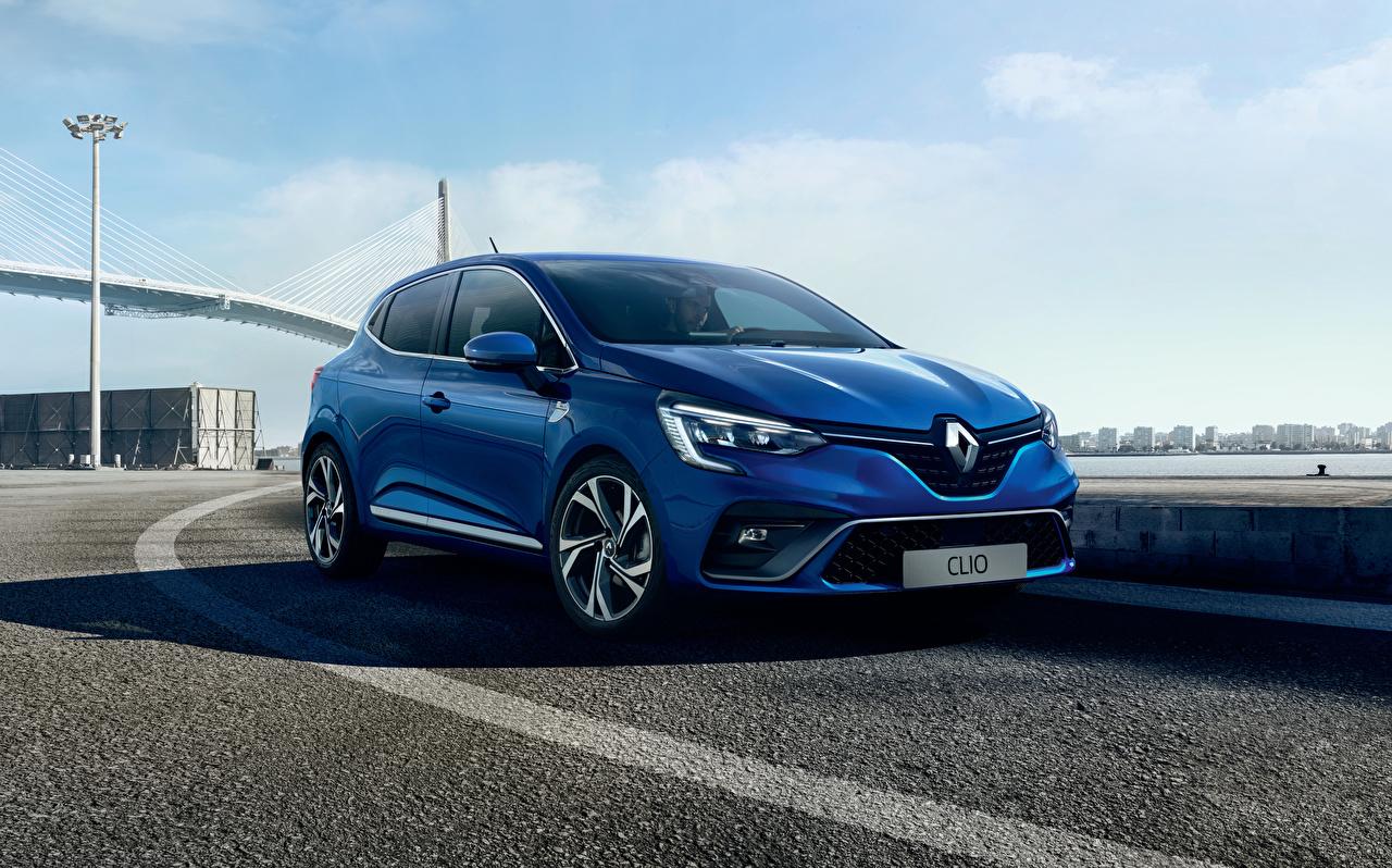 Photos Renault 2019 Clio R.S. Line Worldwide Blue automobile auto Cars