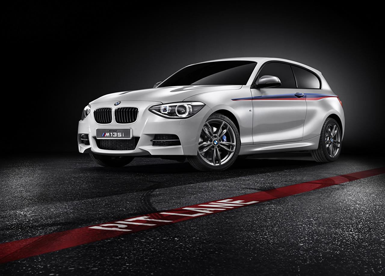 Photos BMW M1 F21 Concept White automobile Cars auto