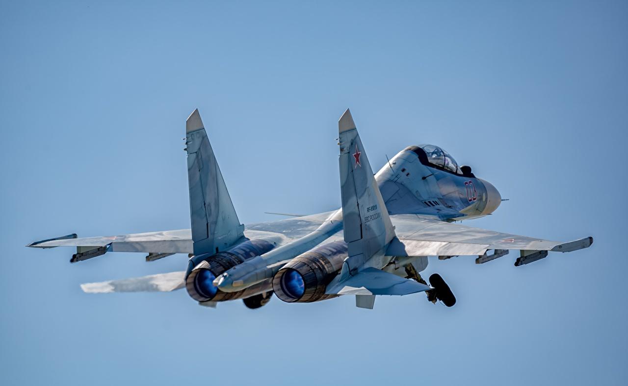 Bilder von Soukhoï Su-30 Jagdflugzeug Flugzeuge Russische SM Flug Luftfahrt russisches russischer