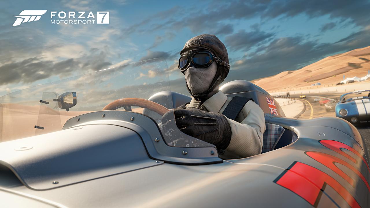 Bilder Forza Motorsport 7 Mann Rallye Spiele Maske Brille