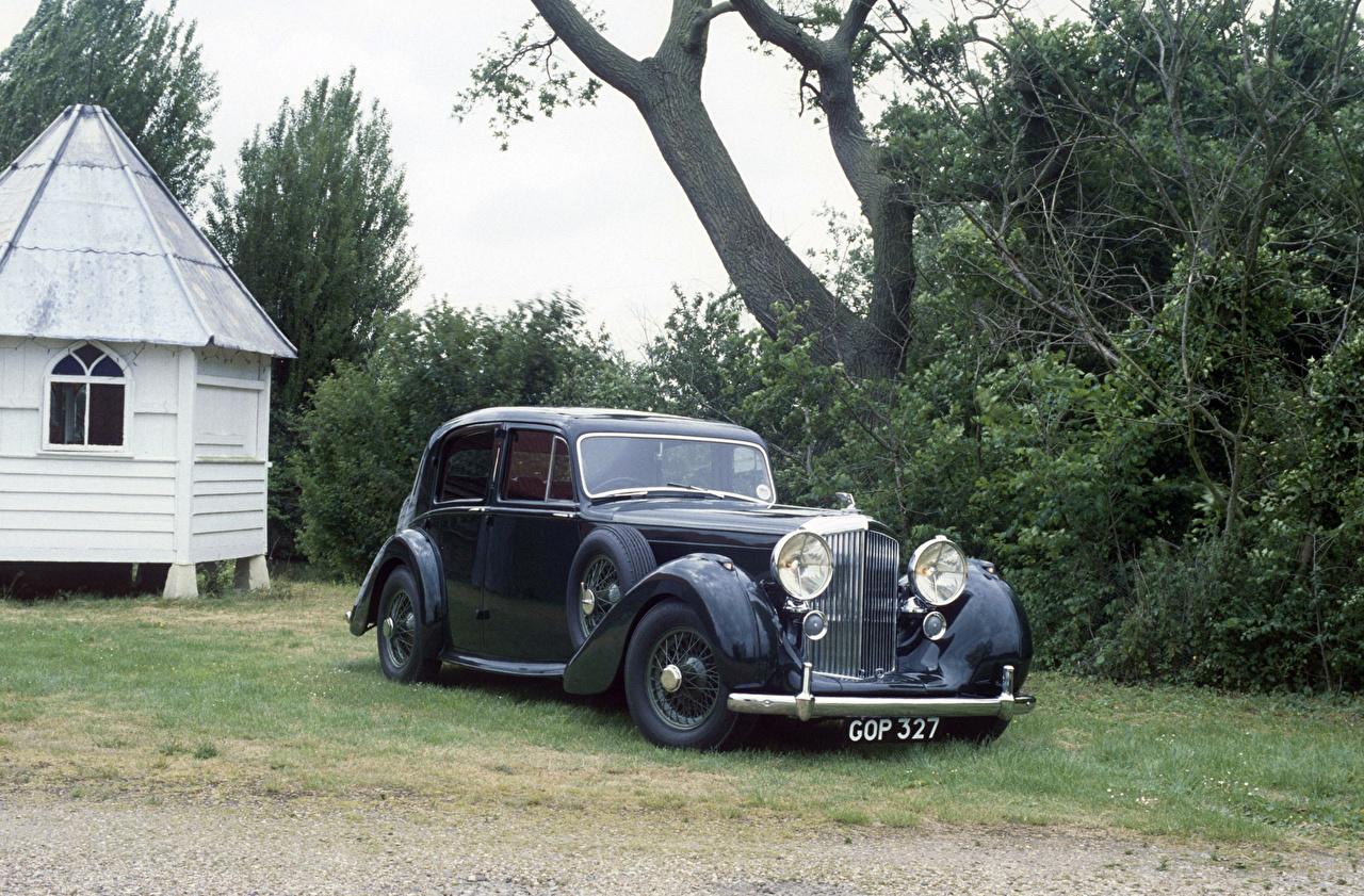 Wallpaper Bentley 1939 Mark V Saloon by Park Ward vintage auto Retro antique Cars automobile