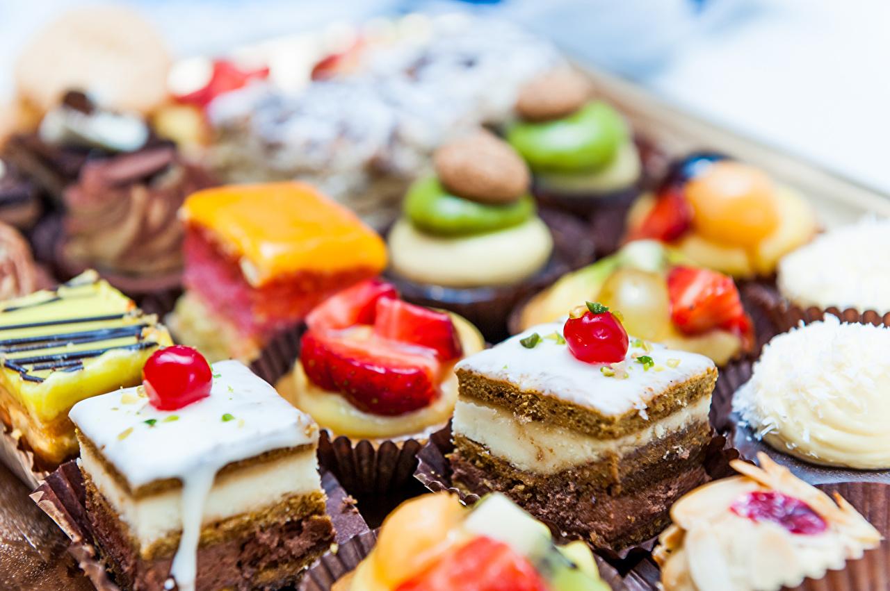 壁紙 小さなケーキ 菓子 ベリー ケーキ 動物 ダウンロード 写真