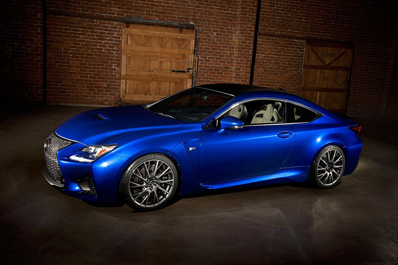 Image Lexus 2015 RC F Luxury Blue auto luxurious expensive Cars automobile
