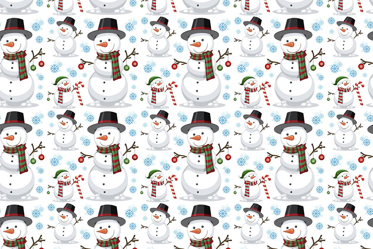 Desktop Hintergrundbilder Textur Der Hut Schneemänner