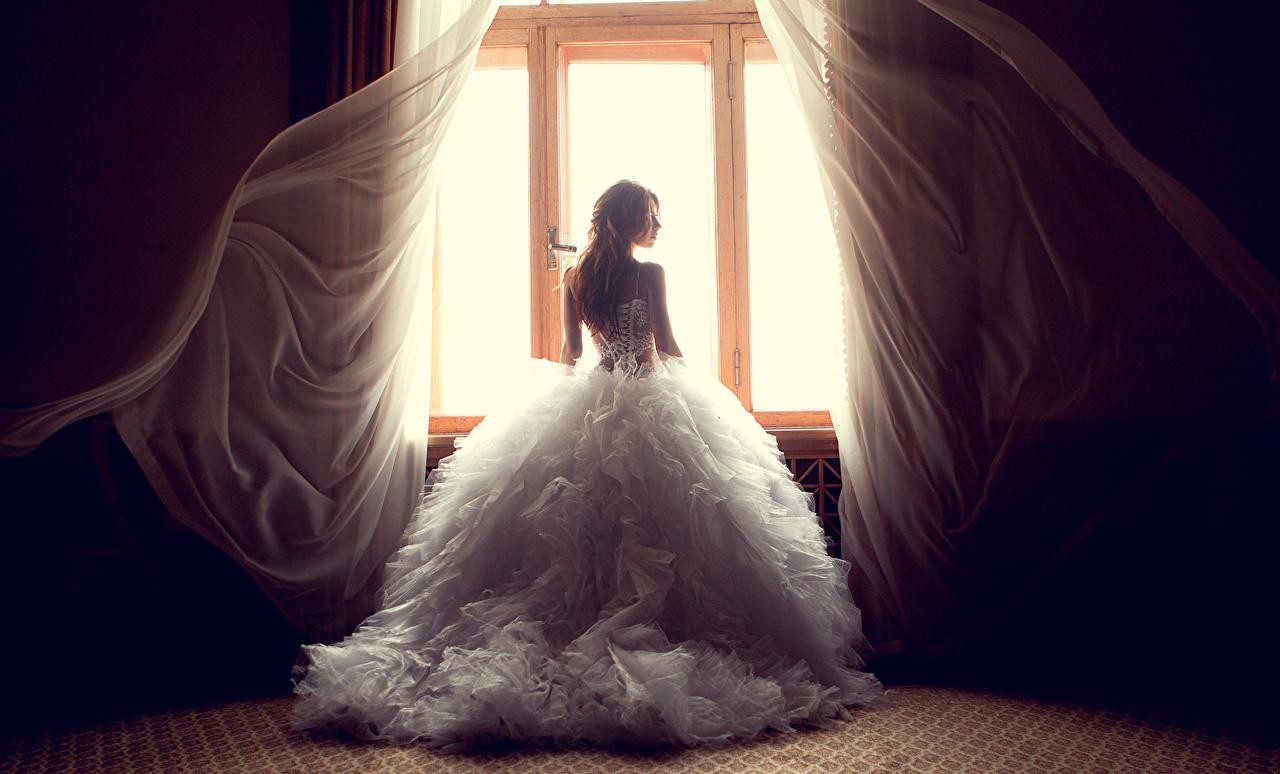 壁紙 ドレス 花嫁 窓 少女 ダウンロード 写真
