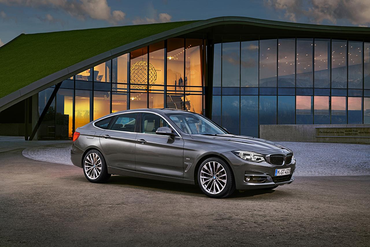 Photos BMW 2016 330i Gran Turismo Luxury Line Worldwide Grey Cars gray auto automobile