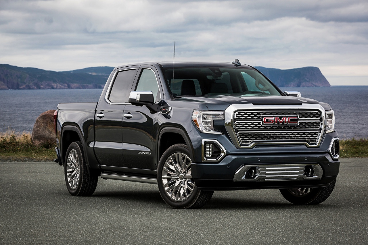 Images General Motors Company Denali, Sierra, 2019 Pickup Black Metallic automobile GMC Cars auto