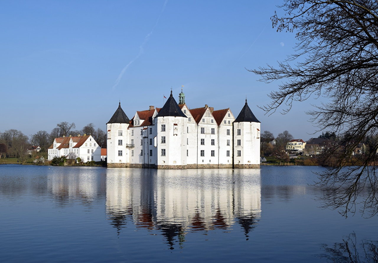 Photos Germany Castles Lake Cities castle