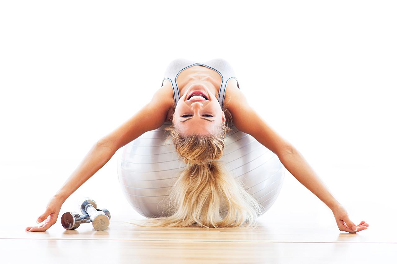,健身,aerobic,金发女孩,球类运动,年輕女性,体育运动,女孩,