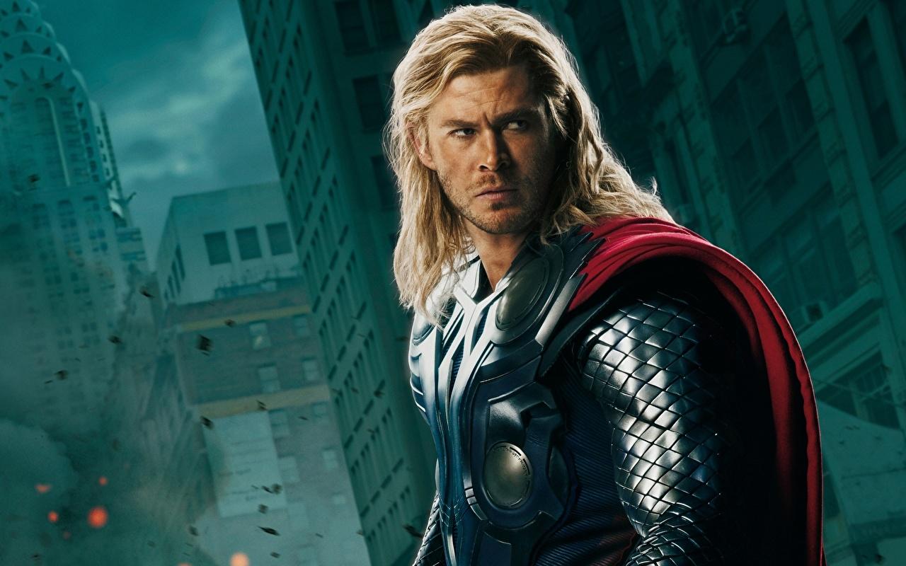 Desktop Wallpapers The Avengers (2012 film) Chris Hemsworth Thor hero film Movies