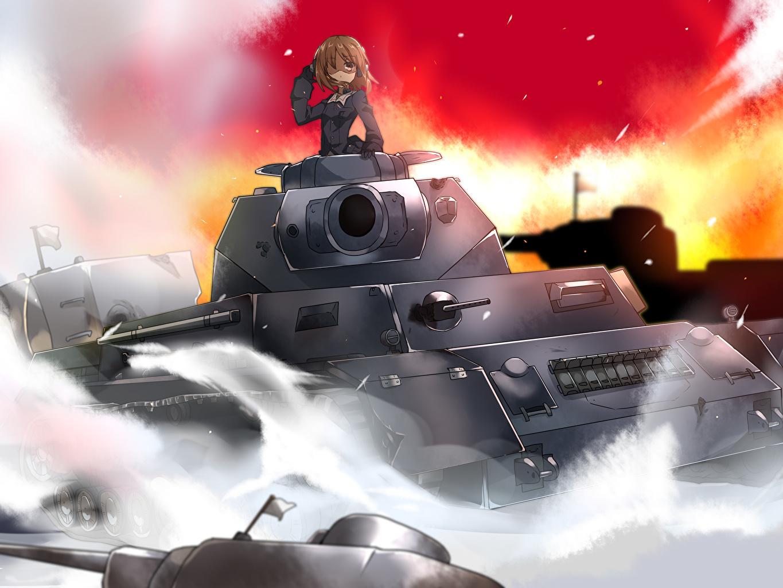 壁紙 ガールズ パンツァー 戦車 アニメ ダウンロード 写真
