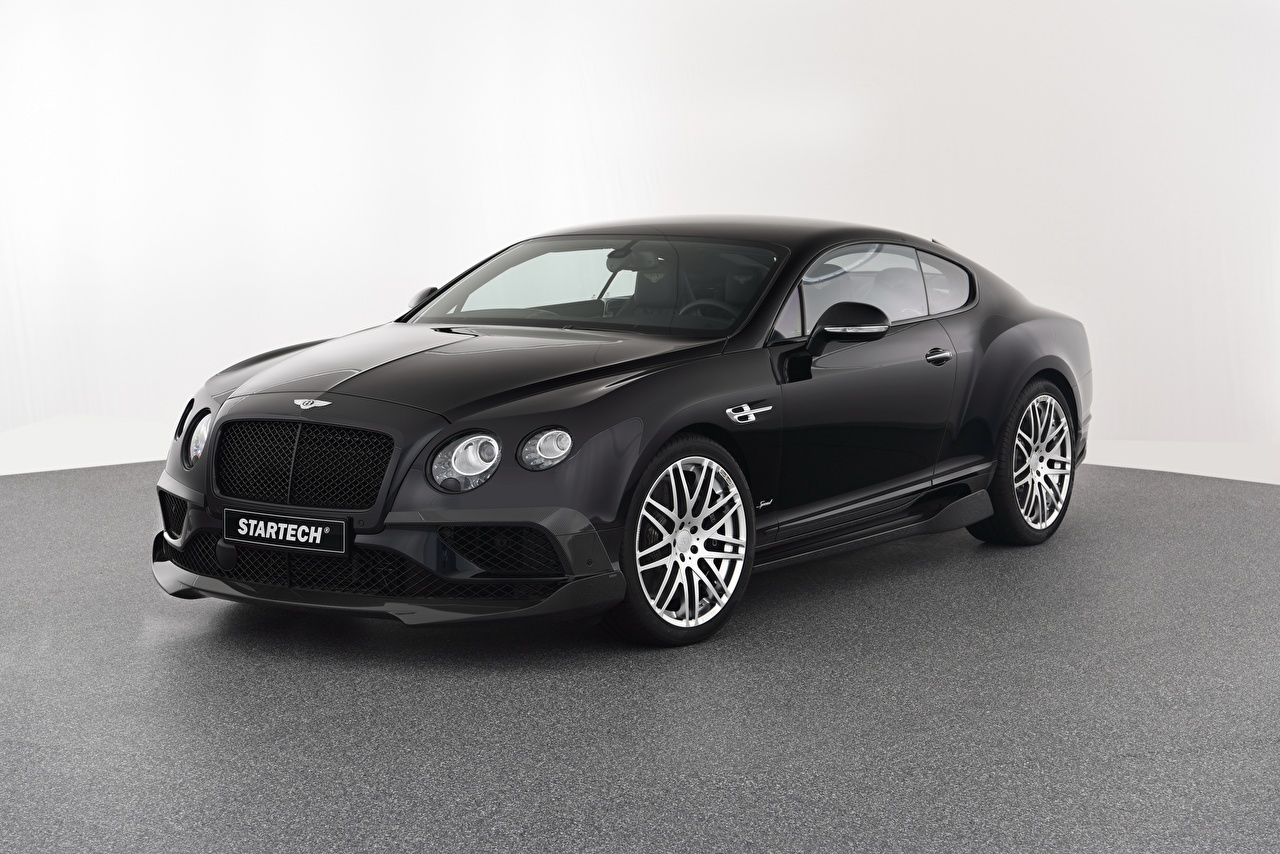 Photo Bentley 2016-17 Startech Continental GT Speed Black Cars auto automobile
