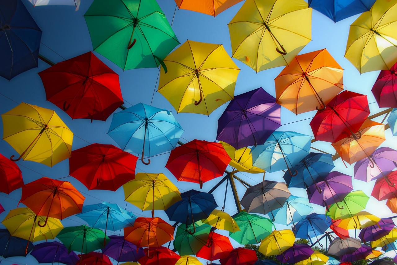 Photos Hungary Street Umbrella Many parasol