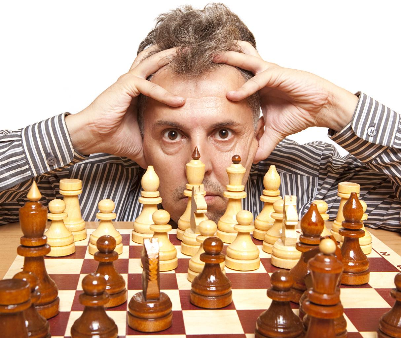 Bilder von Schach Mann Sport Finger Blick Starren