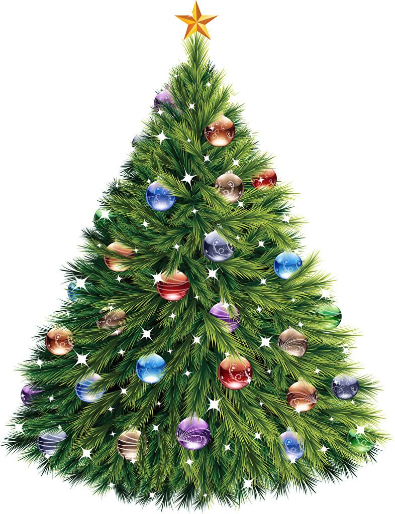 Bilder Neujahr Weihnachtsbaum Kugeln  für Handy Tannenbaum Christbaum