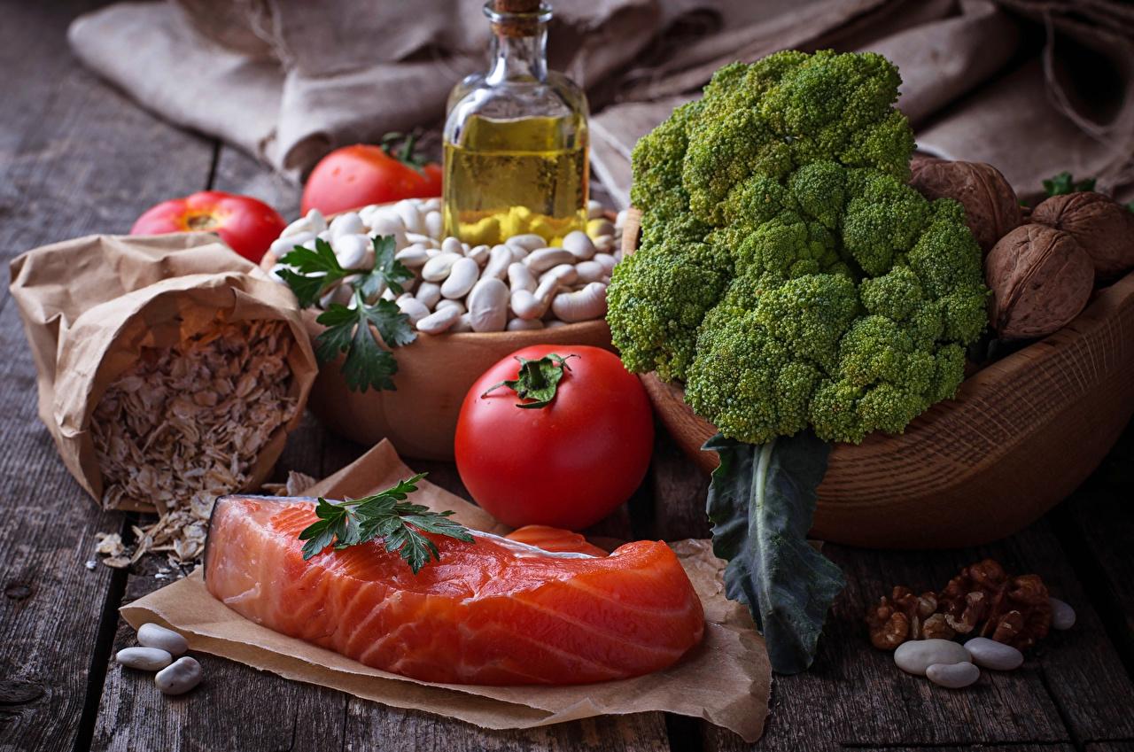 Image Tomatoes Fish - Food Food Vegetables Nuts Still-life