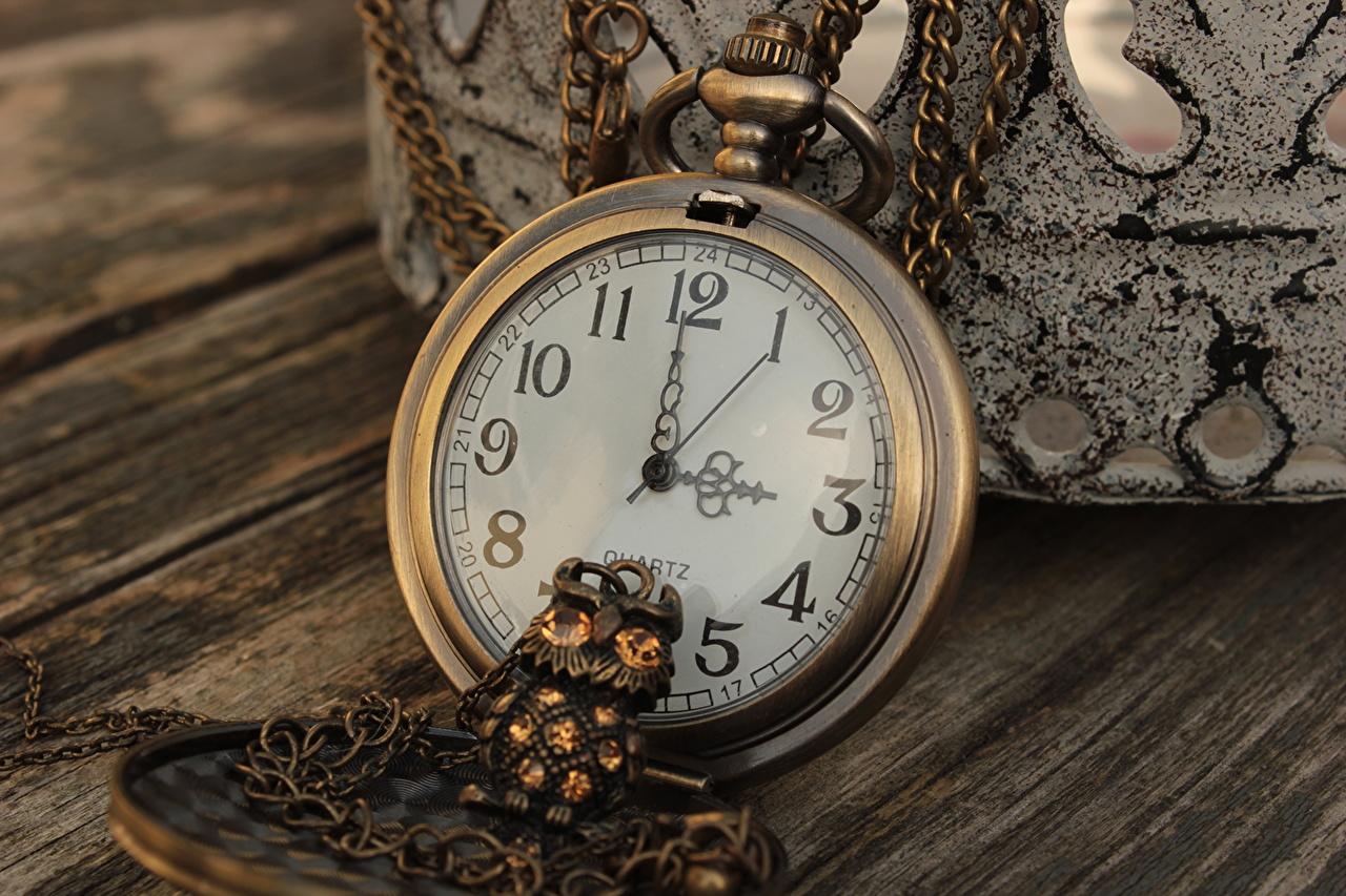 Photos Pocket watch Clock antique Closeup Retro vintage